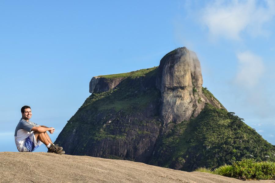 Trilha da Pedra Bonita no Rio de Janeiro visual