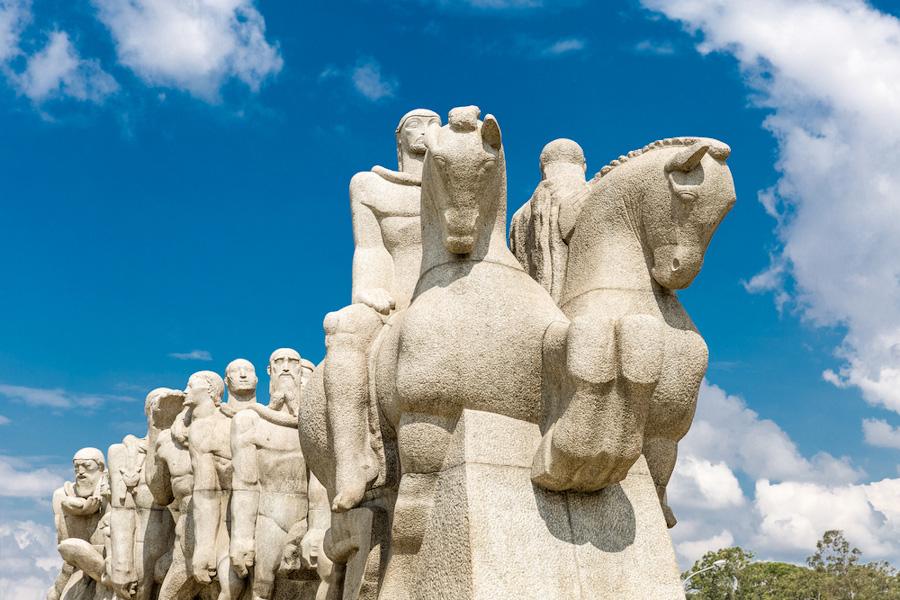 turismo em sao paulo ibirapuera monumento as bandeiras