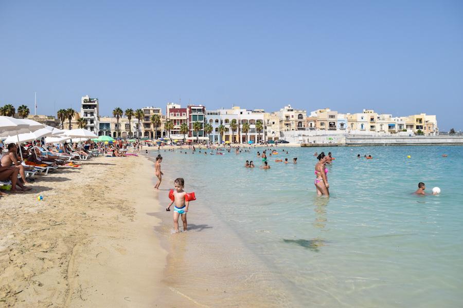 melhores praias de malta pretty beach