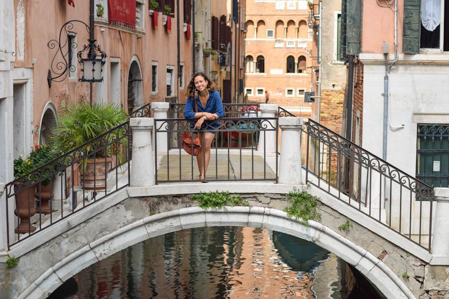 veneza ponte canais viagem italia