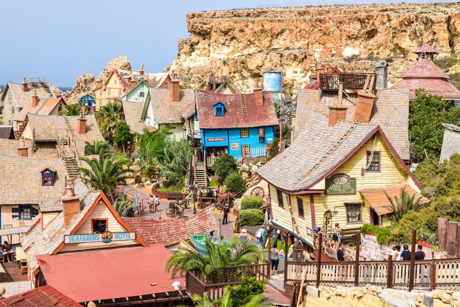 vila do popeye village malta visita passeio pontos turisticos