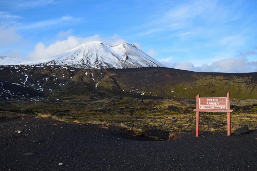 Centro de esqui Antillanca - vulcao