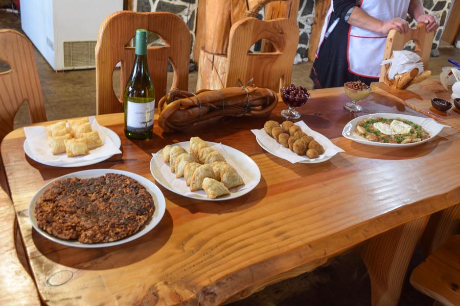 Chile região dos lagos andinos gastronomia