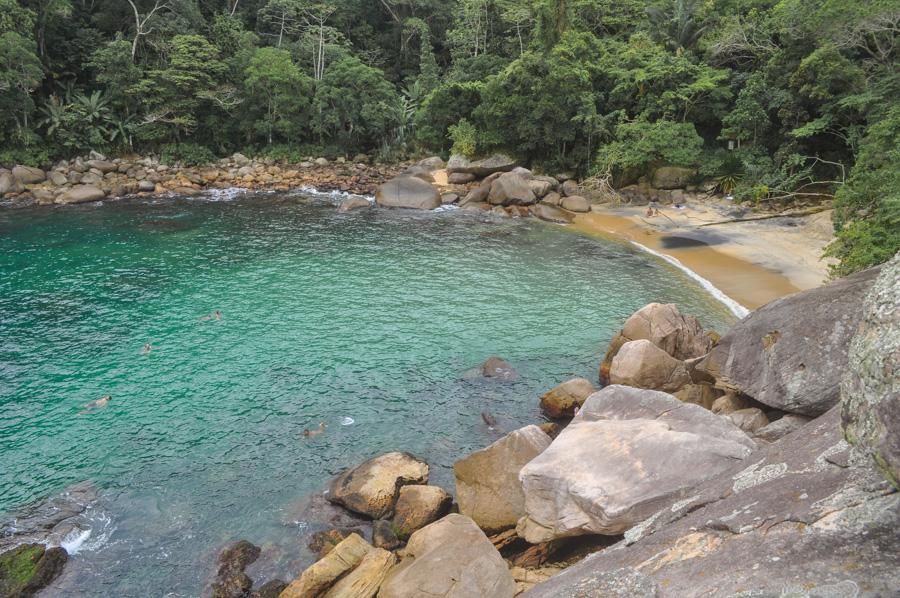 trilhas de ilha grande caxadaço