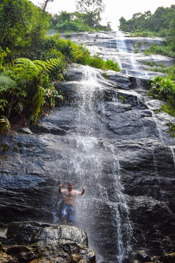 O que fazer em maresias, litoral norte de sao paulo - cachoeira de calhetas