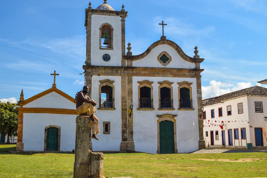 o que fazer em Paraty igreja de santa rita