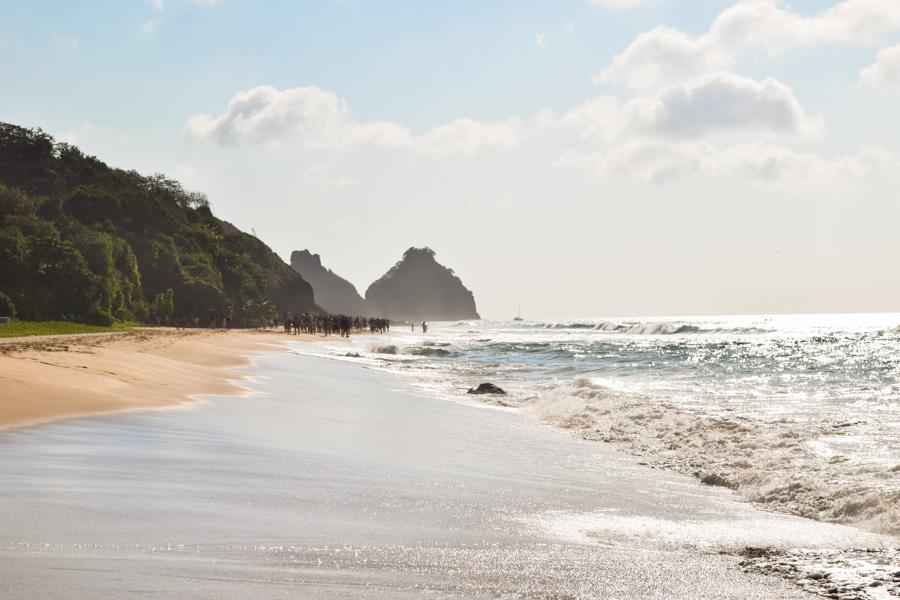 praia do Boldró em Fernando de Noronha
