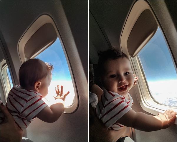 viajar com bebê no avião