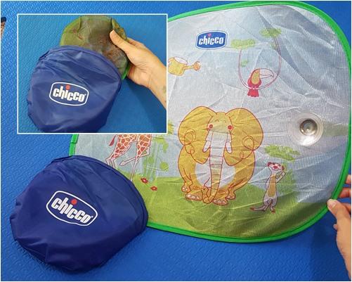 viagem com bebê o que levar tela proteção do sol