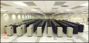 The Q supercomputer at Los Alamos National Laboratory. Q was once the world's second-fastest supercomputer – and an early test subject for silent data corruption.