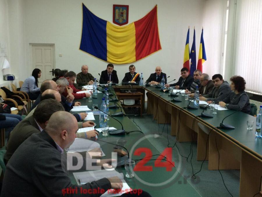 Consiliul Local Dej sedinta (2)