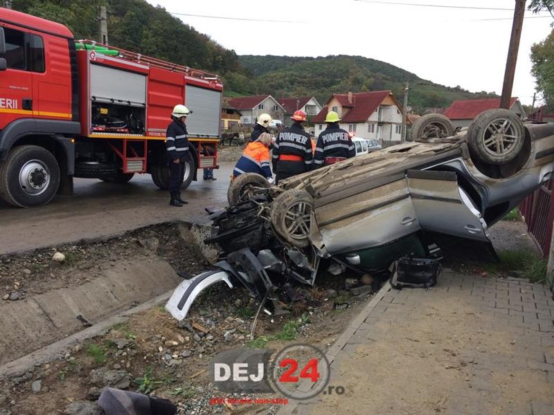 Accident str Somcutului Dej (4)