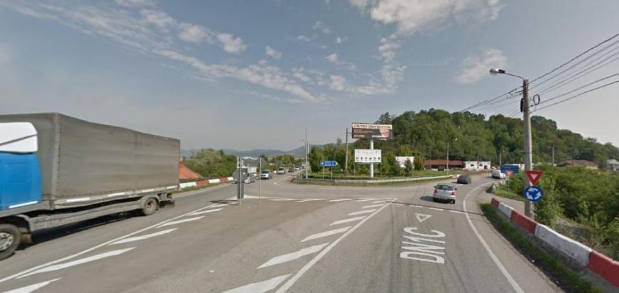 Intersectie strada Baia Mare Bistritei