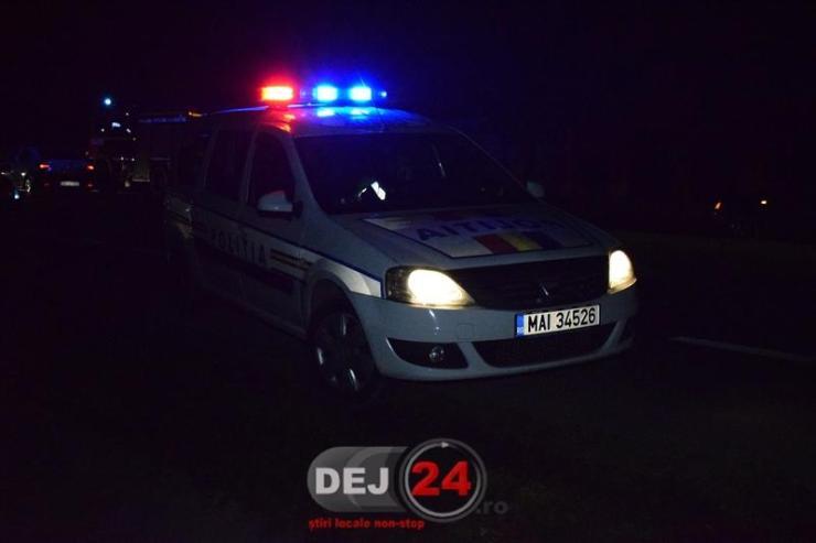 Politia noaptea masina