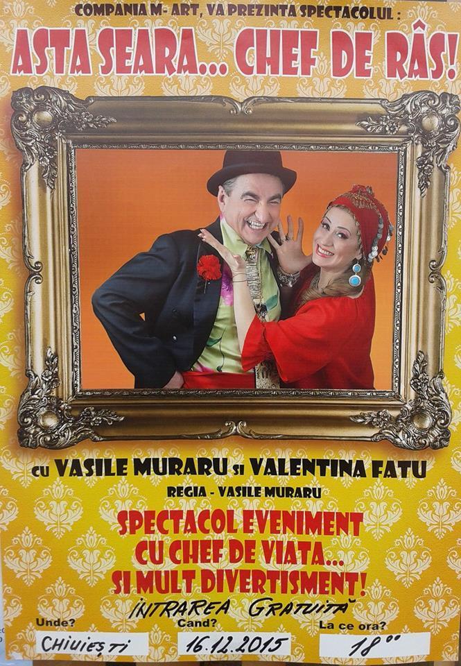 Chiuiești Spectacol umoristic Vasile Muraru