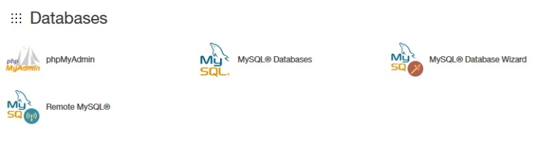 how to create mysql database