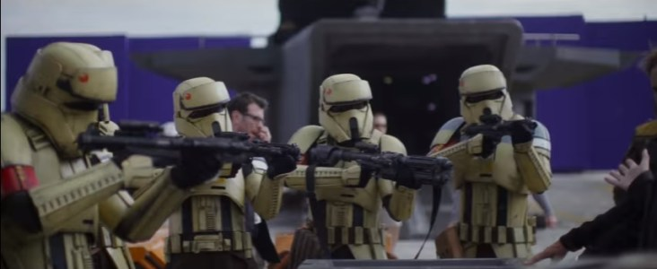 143 seconds in Shore trooper party!