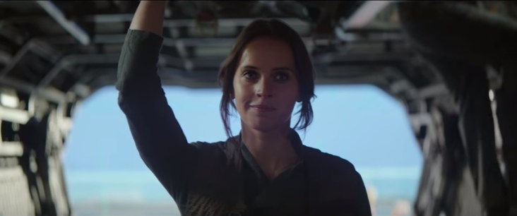 151 Jyn's smirk at the Force