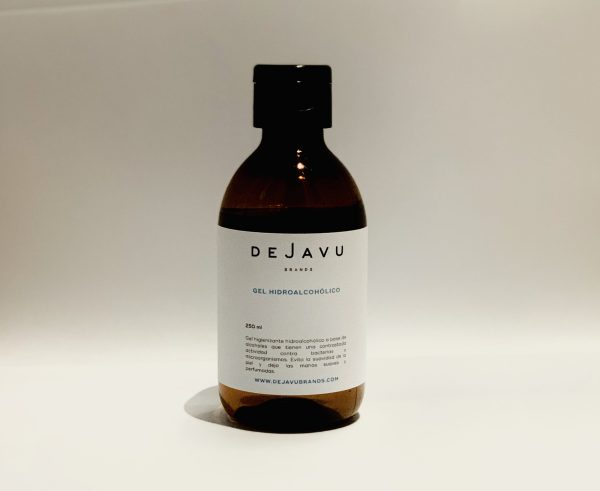Gel hidroalcohólico perfumado