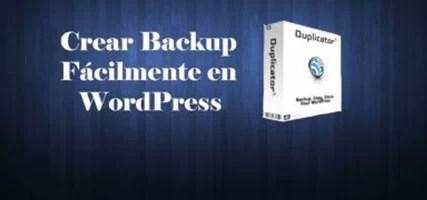 Backup WordPress – Una Manera Muy Fácil