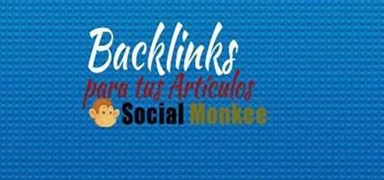 Backlinks para tus Artículos con Social Monkee