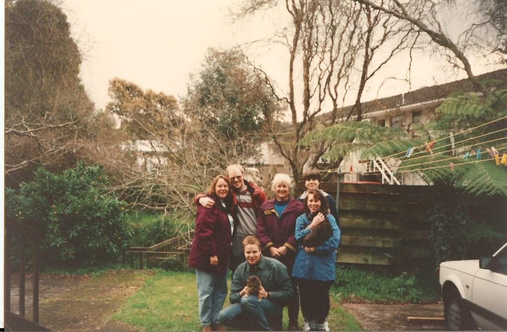 Family in NZ