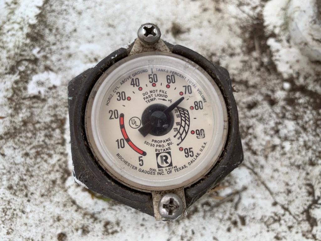 Propane gauge