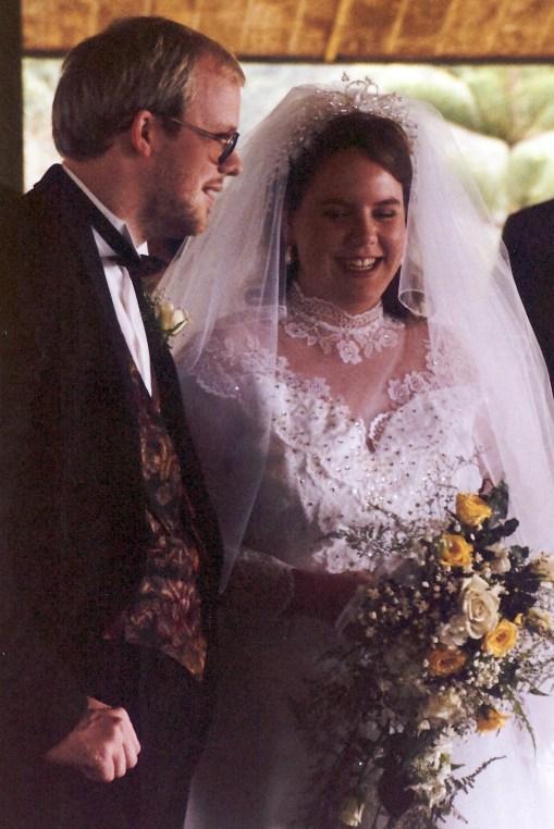 David & Jenn just married