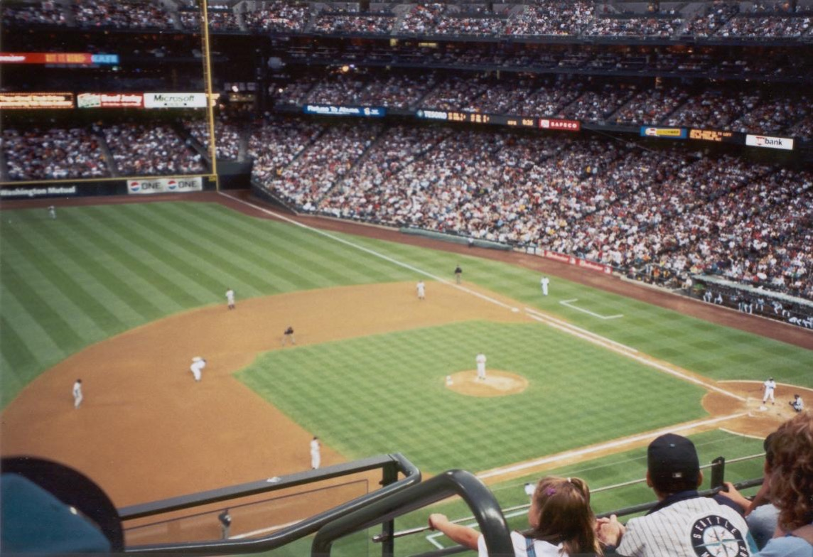 Mariners game in 2001