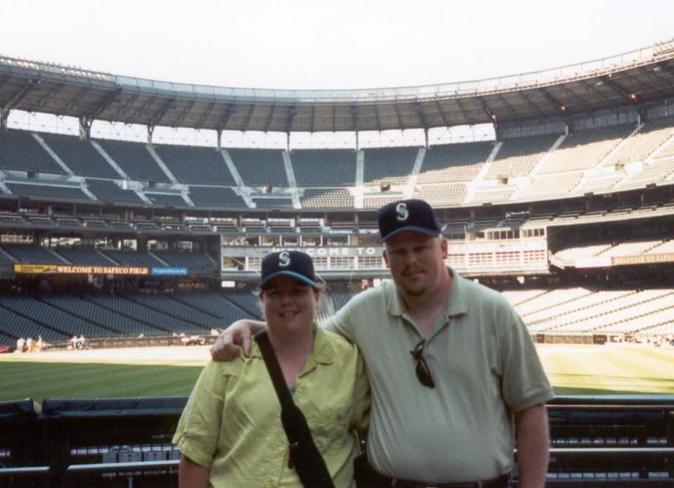 Jenn and David at Safeco Field