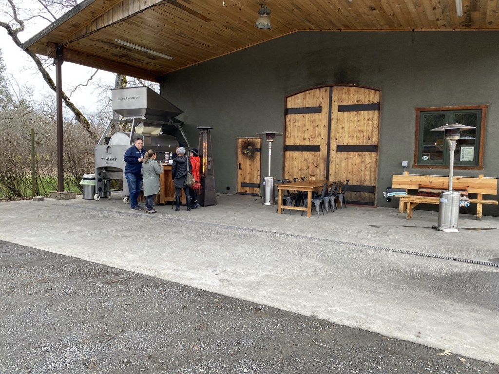 Syncline Winery exterior