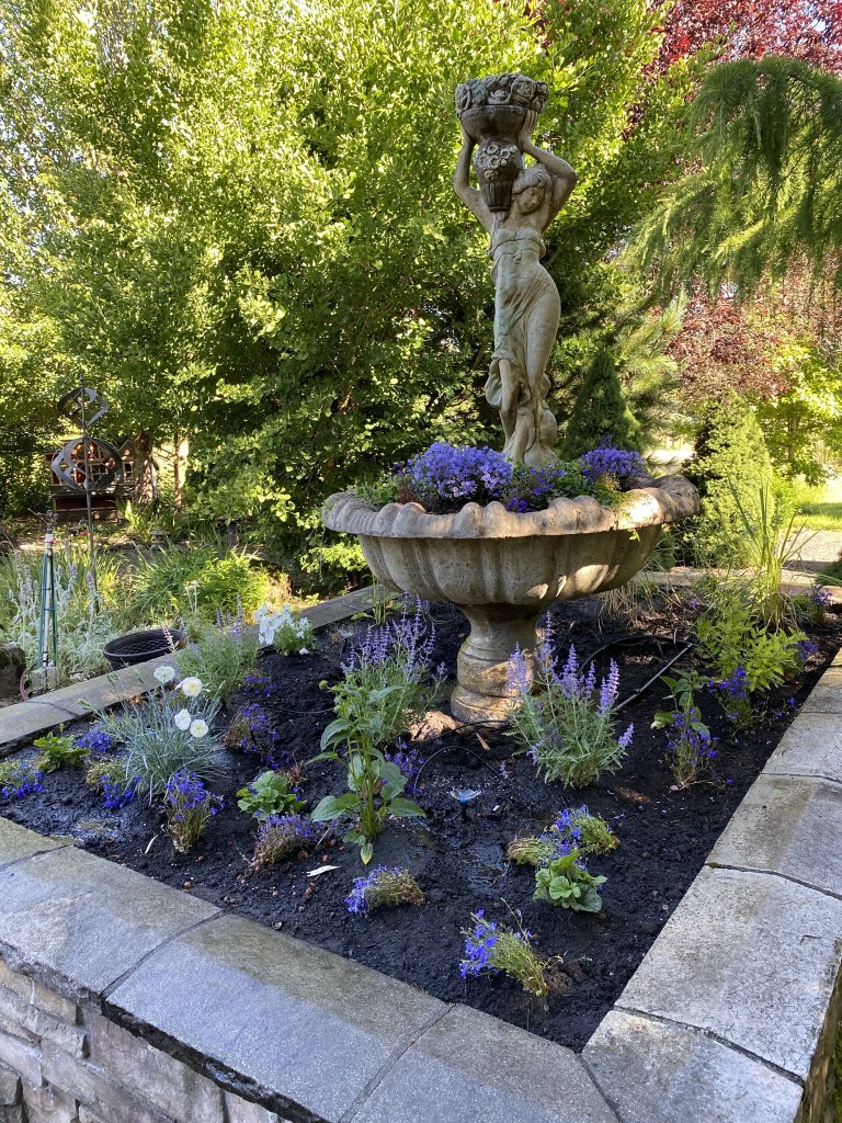 Fountain garden