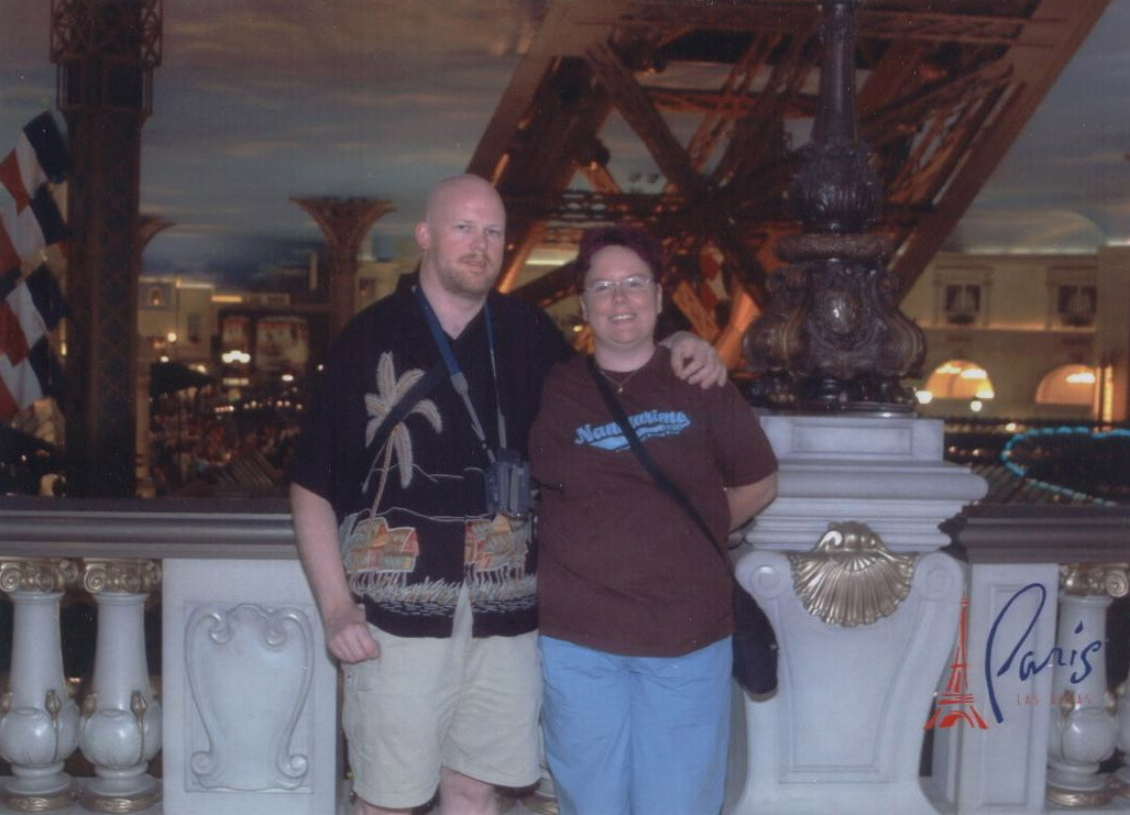 Us in Paris Las Vegas