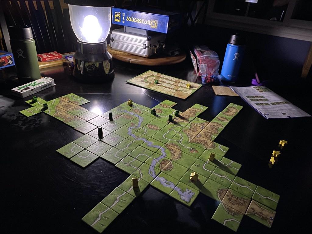 Game by lantern