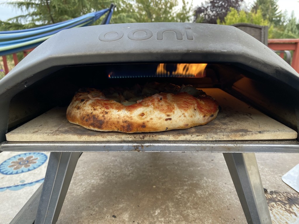 Ooni oven and pizza