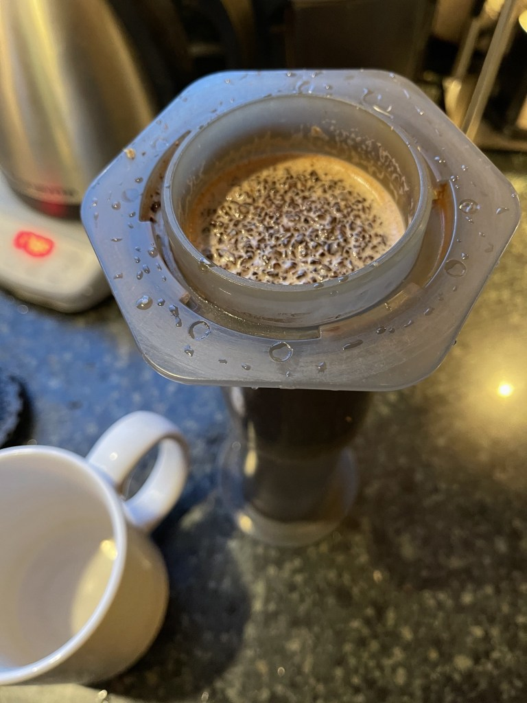 AeroPress inverted method