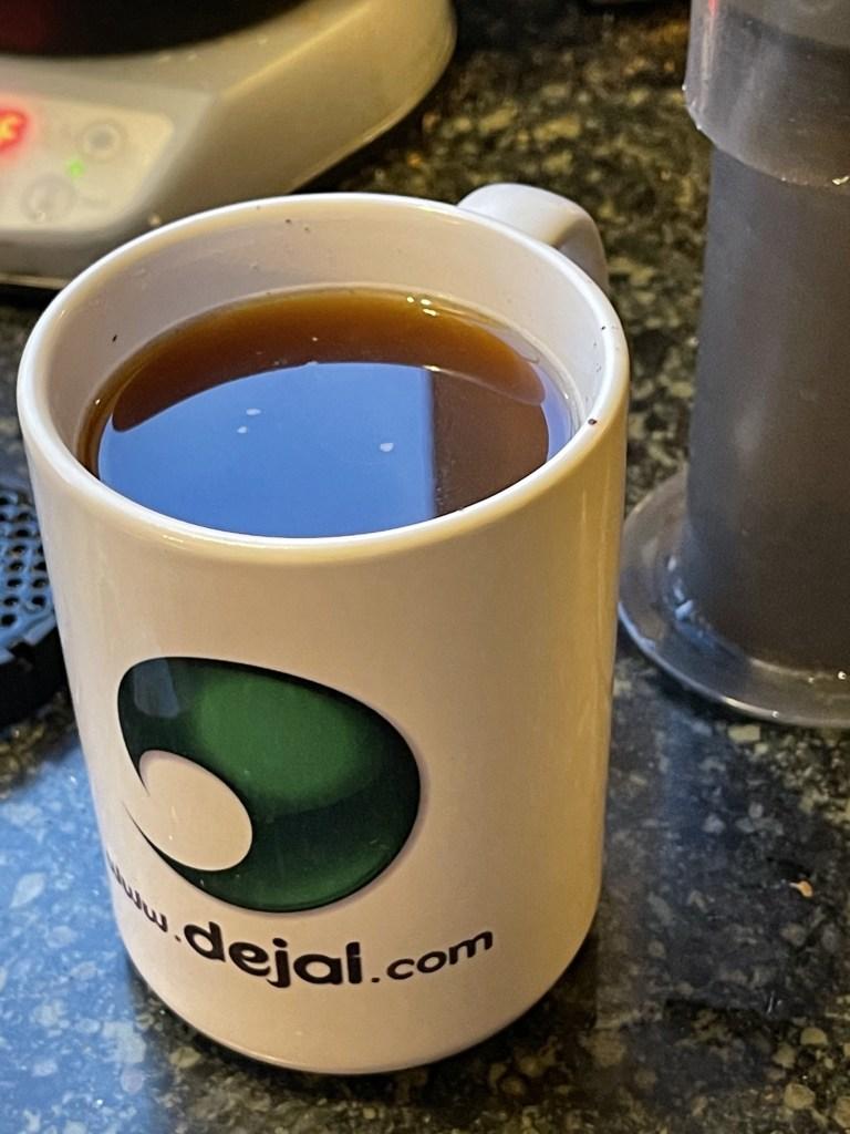 Dejal coffee mug
