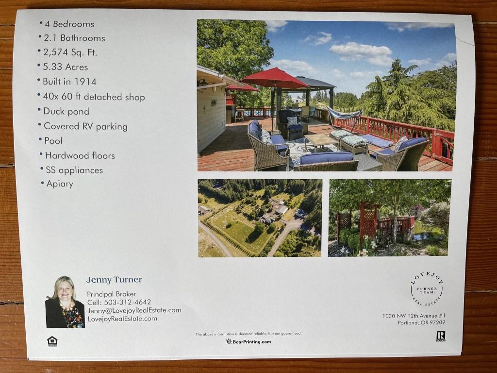 House brochure