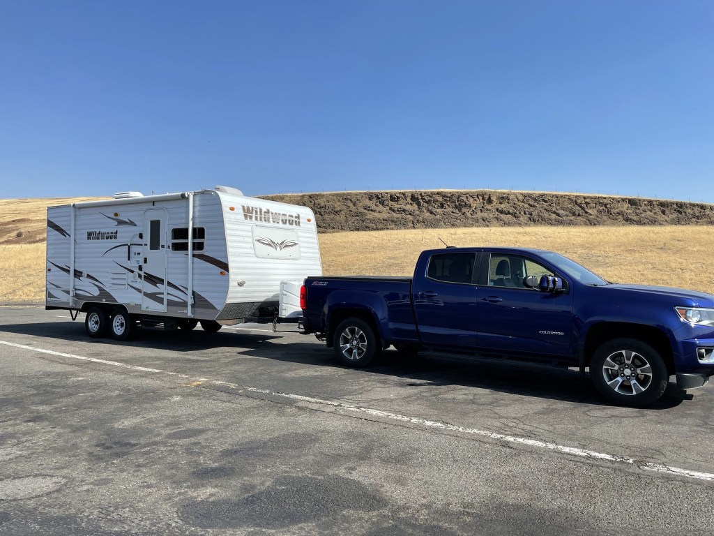 Rental trailer and pickup
