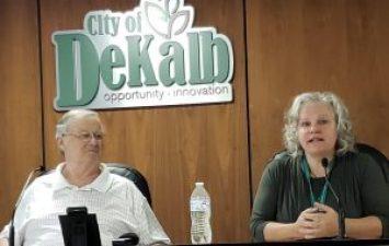 lynn allen fazekas, city clerk, city of dekalb, dekalb,