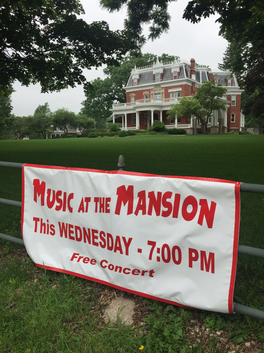 Music at the Mansion-Music Under the Stars Summer Schedule