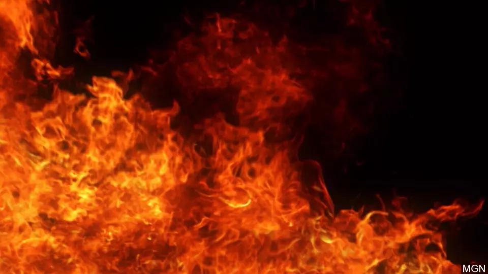 100 acres burned in DeKalb field fire