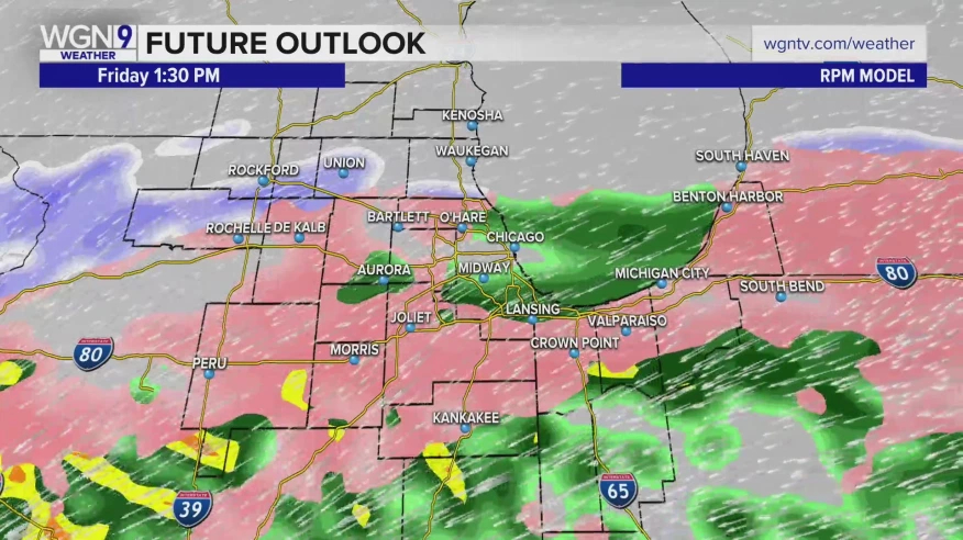 Freezing Rain, Ice Expected Friday; Winter Storm Watch, Advisories Issued