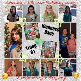 'Giving Tuesday' - Local Girl Scouts Being Kind
