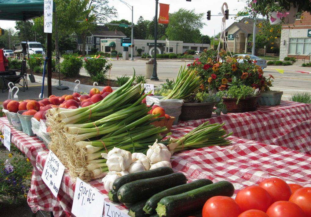 Sycamore Farmers' Market Opening Day