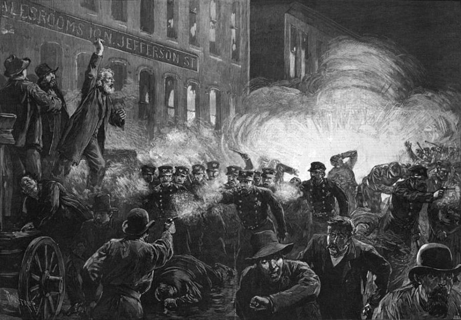 This Week In Illinois History: The Haymarket Riot (May 4, 1886)