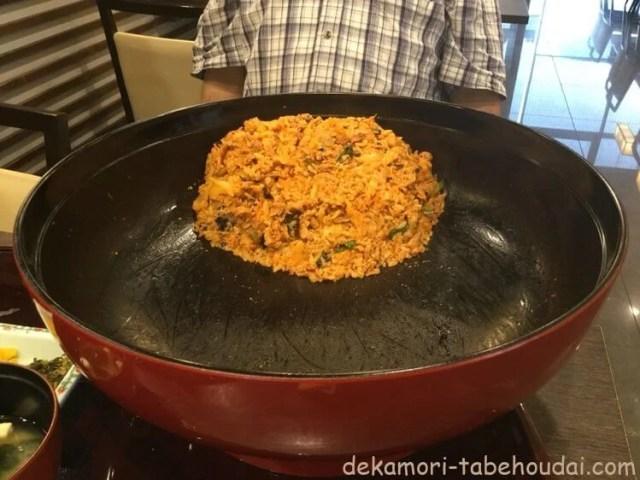 高速SA上り線三南大食いチャレンジメニュー4kg豚キムチ丼ギガ盛りネマタ結果残画像