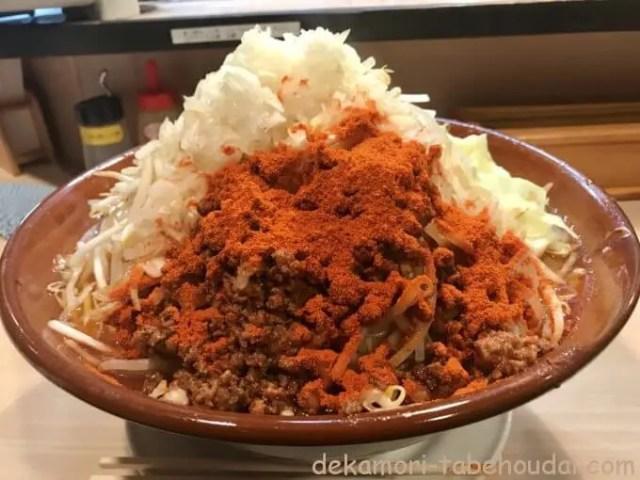 名古屋辛ジロー天風すり鉢麺増し激辛大食い悶絶