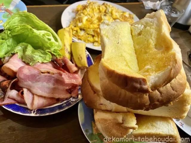 大阪老舗デカ盛りcafe喫茶Yモーニング
