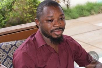 Boniface Kagambega,  directeur du festival RENDEZ- VOUS CHEZ NOUS.